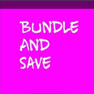 NWT PINK - BUNDLE AND SAVE
